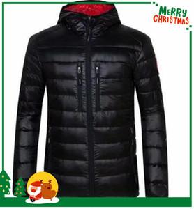 2020 새로운 캐주얼 브랜드 캐나다 windproof 다운 남자 다운 겨울 따뜻한 코트 남자 s 울트라 라이트 오리 남성 windproof goose parka 200