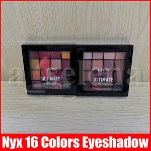 NYX في نهاية المطاف لوحة ظلال NYXUltimate لوحة الظل Omber 16 الألوان الدافئة الظل المحايد فينيكس ماتي تسلق العين