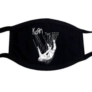 Date comune Tour 2020 Dimensione Uomo Nero 2 Side s 3XL Korn Mask Kpdni