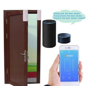 Tür-Fenster-Sensor, Open Eintrag Smart Wi-Fi-Sensor Kontakt Tür-Fenster geschlossen / offen Detector, Benachrichtigung Reminder Kein Hub Required Fern