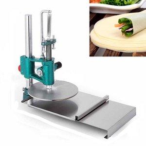Pizza Dough Press Machine Manuel 18cm Pizza Dough Aplativement Presse à rouleaux de presse Chapati Pressing Machine Pâte Presseur1