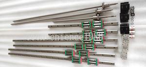 HGR20--300mm / 700 millimetri / 1000Linear ferroviario HGH20CA cuscinetto RM2005 / RM2010 Anti-backlashed BF12 vite a sfere / BK126.35 * 10mm Motore Accoppiamento