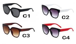 حمراء امرأة جيدة ركوب الدراجات النظارات الشمسية في الهواء الطلق نظارات الشمس العلامة التجارية الأسود نيس الشاطئ القيادة نظارات نظارات 4colour رجل صامد للريح FREE SHIPPING