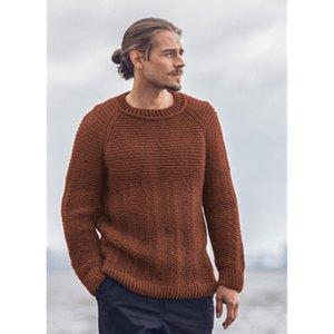Mann fest farbe stricken pullover mode trend langarm runde hals pullover pullover männlich frühling neue lose lässig bottoming tops