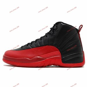 Men's 12 12s Basketball Shoes Men's Shoes Gym Red Reverse Taxi Game Royal French Blue FIBA Men's Sneakers Coach 7-13