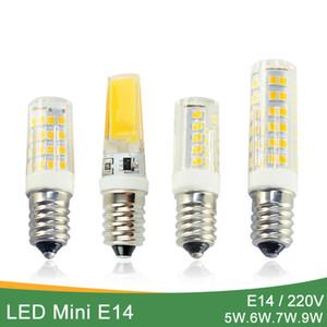 Kaguyahime Dimmable Mini Ceramics COB E14 LED Bulb Light 220V Led Lamp E14 5W 6W 7W 9W Candle Spotlight Lampada Ampoule Bombilla