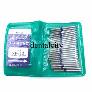 SF SERIES dentaire diamant FG haute vitesse Burs forpolishing de Burs dentaires 50PCS / SAC