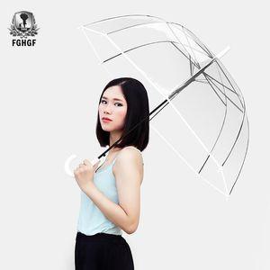 Fghgf punho longo 8k Transparente Moda Umbrella Masculino Mulheres Homens Matic criativa Big Umbrella Fghgf longo bbykAD yh_pack