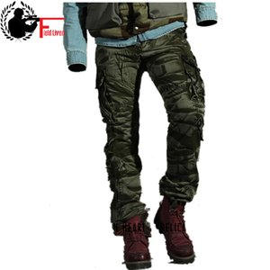 Fashion Men's Pants Spring Cotton Camouflage Military Pants Men Straight Combat Casual Tactical Overalls Casual Male Trousers 201112