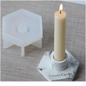Handmade Candlestick Ashtray Resin Mould For Diy Uv Expoy Craft Candle Holder Tools Handmade Can bbypGH