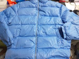 20FW Modedesigner-Qualitäts-Männer Wintermäntel lose Männer Frauen unten Jacke Side Ganzkörper glänzenden Buchstaben Windjacke Paar Hoodie cas