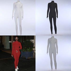 1Mzou New Fashion Winter Women's Wear Women Nuevo Alto Bodice Bodice Cuerpo Ropa Cuerpo Cuello Bordado Slim Fit Body 20017P