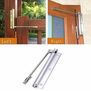 # 3 s réglable en métal Espace Aluminium Surface montée automatique de fermeture Closer Accueil Porte Quincaillerie Garniture de porte ressort réglable verrouillage d80E #