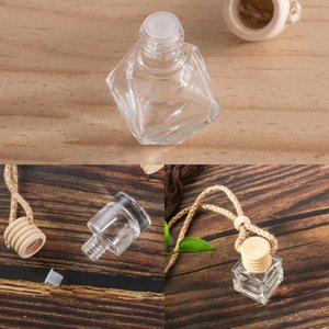 Originality Aromatherapy Perfume Bottle Empty Glass Essential Oil Diffuser Ornaments Automobile Subpackage Air Freshener Bottles 0 7qh K2