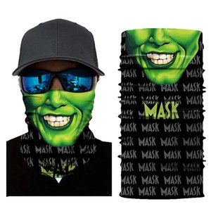 Face Mask Women Men Flag Digital Printed Multi Functional Seamless Quick Dry Sunshade Sweatband Hairband Head Scarf Camera