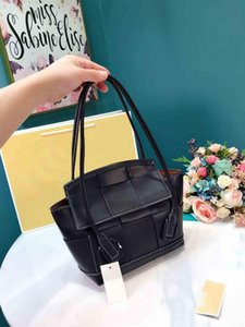 New designer handbags Harms 25cm womens fashion totes genuine Block pattern leather designer bags ladies luxury purse handbag r07