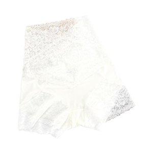 Signore Pizzo Vita alta Mutandine Nylon Ladies Biancheria intima Pantaloni di sicurezza in pizzo Pantaloni di sicurezza Plus Size Leggings