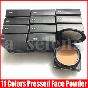 M Yüz Pudra Makyaj Artı Vakfı Mat Doğal NC 11 Renkler 15g Wear için Yüz Pudra Kolay Makyaj Pressed