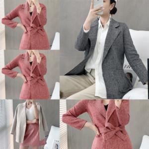 LJW Otoño Hombre de lana de lana diseñadora de diseño de color Color Cortavientos Social Ajuste de puntada abierta Puntada Moda Hombres Sólido Largos Abrigos sueltos