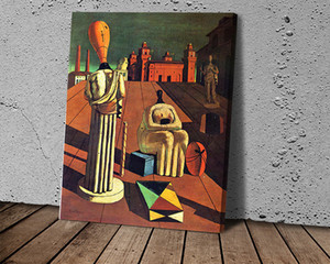 Giorgio De Chirico Obras Poster Canvas Painting Abstract Art Poster Print Oil Painting Bedroom Hotel Wall Art Painting Pictures