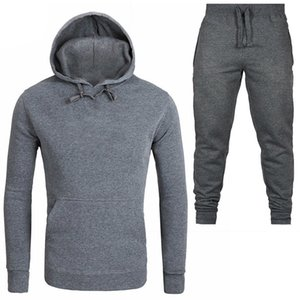 A DI Hoodie Sweatshirt Men Women New Fashion Hoodies Sweatshirts+Sweatpants Suits 2019 Autumn Winter Warm Fleece Hooded WE