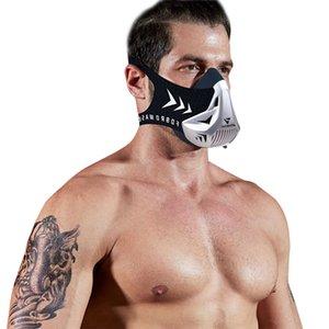 Yüksekliği 2020 Direnç Hareket Eğitimi Spor Maske, Yüksek Yer Yükseklik Simülasyon Egzersiz maskeler 0xo8 Maske