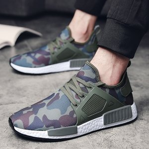 NMD R1 V2 Mexico City camouflage Neon human race hu nmds sneaker Pharrell Williams pale nude mens running jogging sports shoe size 47 48