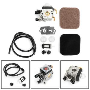 Areyourshop Accueil Carburateur Fit Pour Stihl FS85 FS75 FS80 KM85 HS75 HS80 HS85 Carb Air Fuel Filter Kit d'outils électriques Pièces appareils
