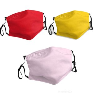 Solid Color Face Mask Dust Fashion Face Masks Breathable Adjustable Reusable Protective Mask DHL Free Shipp
