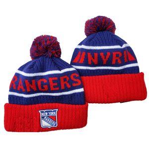 Mützen Hüte Chicago Pittsburgh Doronto New York Eishockey Strickmützen bestickte Hüte Eine Größe