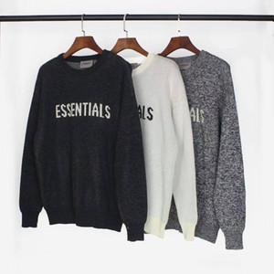 2020SS, nebbia in contanti maglione nuovo stile, pullover di stampa alfabeto per uomini e donne