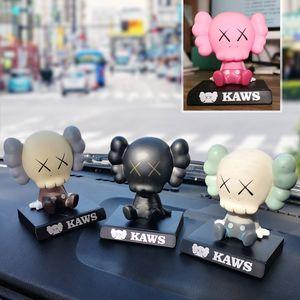 kaws Cartoon Toy Moving Head Doll Car Creative Decoration Supplies Trendy Decoratio