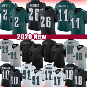 11 Carson Wentz 2 Jalen Aurken Miles Sanders Zach Ertz Futbol Jersey Brian Dawkins Fletcher Cox Jason Kelce Desean Jackson Darius Slay Jr