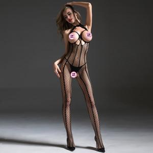 Femmes Lingerie Sexy Hot Soutien Gorge érotique Lenceria Femenina Teddy Babydoll Sous Bodysuit Sexe Costumes Crotchless Bodystocking