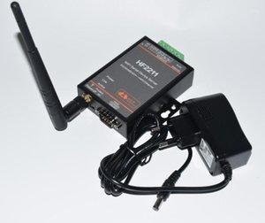 HF2211 Seri WiFi RS232 / RS485 / RS422'ye, Endüstriyel Otomasyon Veri İletimi için WiFi / Ethernet Dönüştürücü Modülü