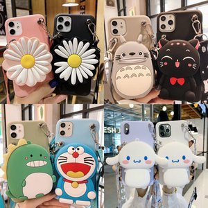 Bag Phone Case for Xiaomi Redmi 9 Max 9S S2 Note 8T 8 7 6 5 Pro 4 4X K30 K20 Go Soft 3D Cute Silicon Coin Wallet Funda