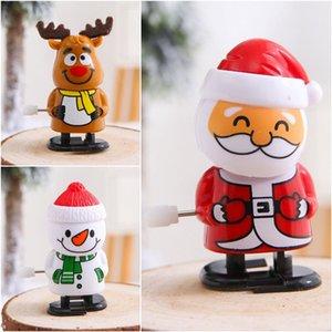 2020 Santa Claus caminar muñeca muñeco de nieve decoraciones de viento de hasta juguetes muñeca navidad niños partido de Navidad pequeño regalo juguetes T9I00637