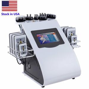 재고 있음 40K 초음파 Cavitation 기계 8 패드 지방 흡입 Lllt Lipo 레이저 RF 진공 Cavi Lipo 슬리밍 스킨 케어 살롱 스파 장비