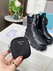 Женщины Bainkle Martin Boots Australia Mathed Rois Boots Real From Nylon с съемным мешком Черная леди Открытая туфли на открытом воздухе с коробкой