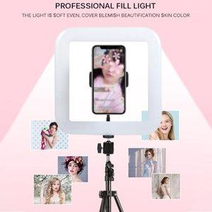 2020 Beauté HD Photography Live Fill Light Square Bagia Caméra Vlog Remplir la lumière Light Light Photographie Téléphone de maquillage Réel Video1
