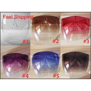 Occhiali da donna protettivi viso viso occhiali protettivi bicchieri impermeabili anti-spray maschera protettiva occhiali da sole goggle occhiali da sole UGFL9