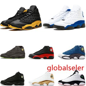 13 13s flints man basketball shoes for men black game bred MELO captain CHICAGO Designer mens sport trainers sneakers free shipping