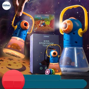 StoryBook Fackelprojektor Kaleidoskop Kids Sky Light Up Montessori Baby Lernen Pädagogisches Spielzeug für Kinder Fairy Tales Geschenk Q0113