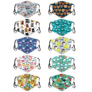 Die neuesten modischen Cartoon Masken für Kinder PM2.5 Staub und Smog Beatmungsgeräte können für Kinder und Babys waschbar seine DWC1728