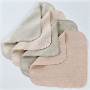 1Pc Baby Cotton S L Square Towel Bath Wash Handkerchief High Quality Newborn Saliva Wrinkle Towels Muslin Infant Face Wipe Cloth
