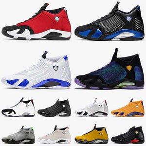 Yeni 2020 Jumpman 14 Hyper Kraliyet 14s Erkek Basketbol Ayakkabı Kırmızı Süet Üniversitesi Altın Çöl Kum Trailer Sneakers Boyutu 13