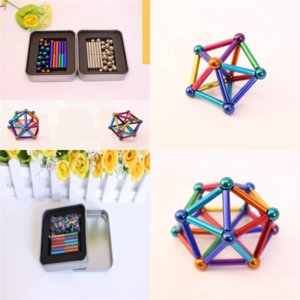 nSi5 Hardware Colorful buckyball New Zinc Finger decompression toy Puzzle Alloy Decompression Toy