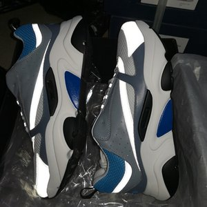 B22 Sneaker Herren Laufschuhe Vintage Mensbasketballschuhe Leinwand und Kalbsleder Turnschuhe Unisex-beiläufige Schuh-20color Große Größe 3