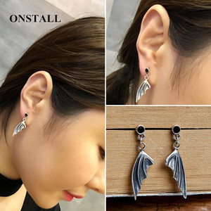925 sterling silver little devil earrings earrings ear jewelry independent design personality Gothic punk accessories