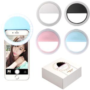 TikTok SG11 Portable USB Charging LED Phone Rechargeable Selfie Ring Light Flash Lamp Selfie Ring Light